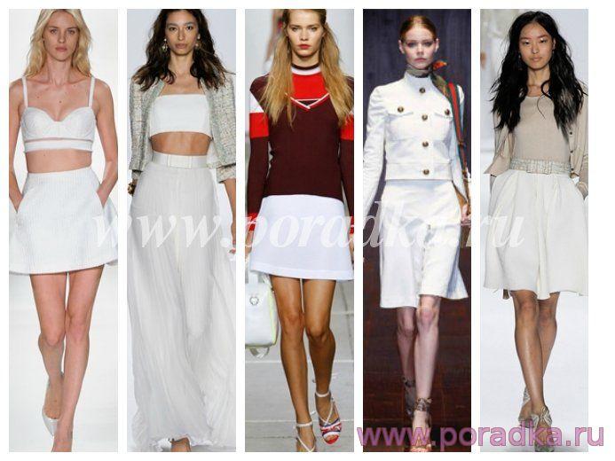 Модные юбки 2015 - фото тенденци