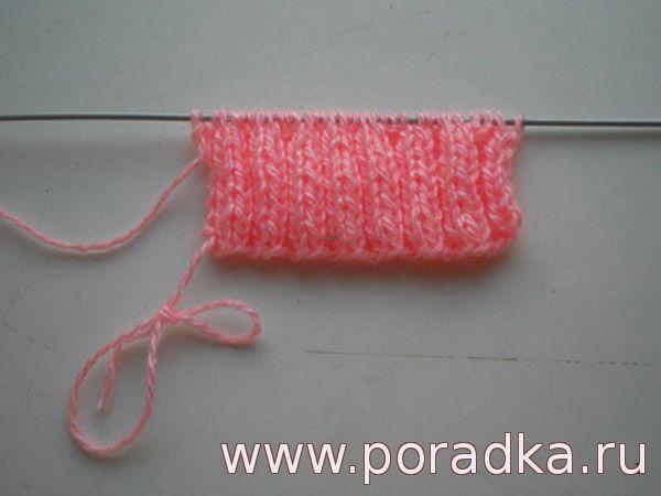 вязание резинки