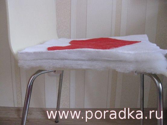 Подушка для стула из синтепона своими руками 75