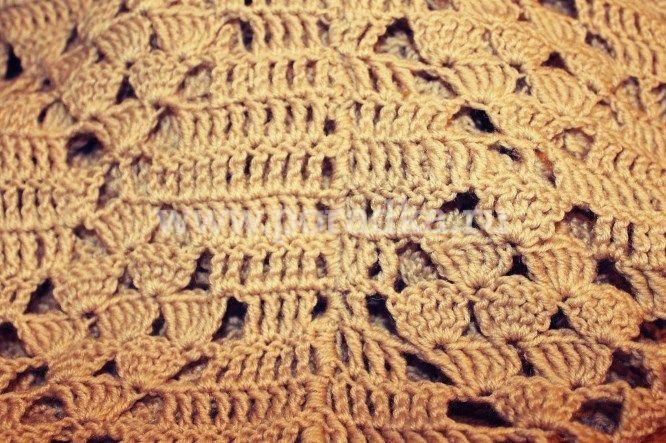 связать свитер крючком