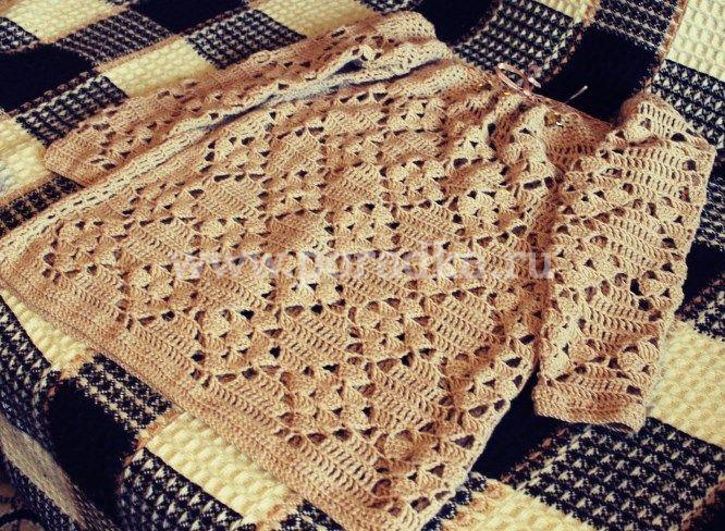 свитер крючком