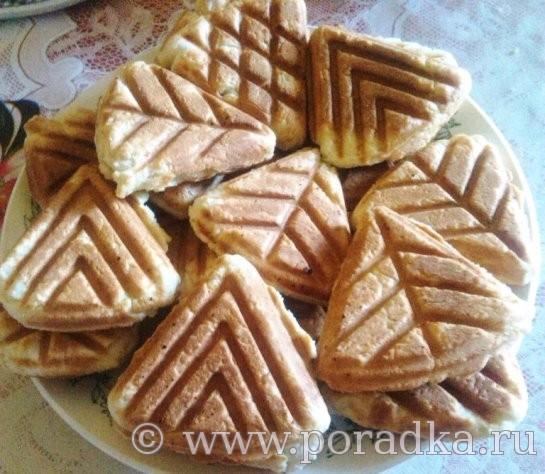 печенье на формовой сковороде рецепт с фото