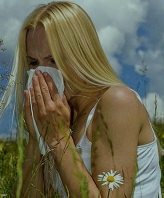 аллергия на весну кашель