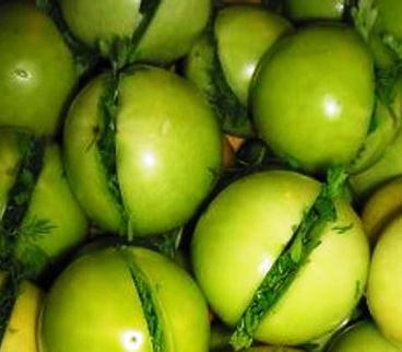 заготовки из зеленых помидоров