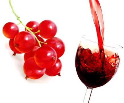 Как сделать вино с красной смородины