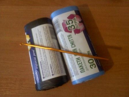 Вязание.  Тот, кто один раз попробует вязать из полиэтиленовых пакетов, влюбиться в это занятие навсегда.