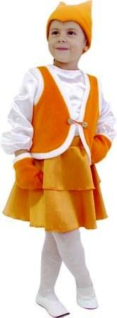 новогодний костюм лисицы