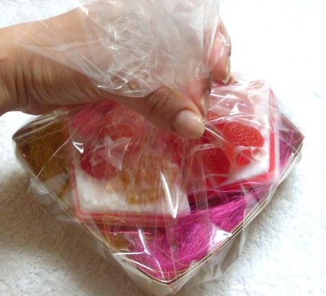 как сделать красивую упаковку для мыла