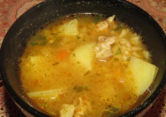 Суп из курицы простой и вкусный рецепт 122
